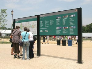 National Mall and Memorial Parks Wayfinding